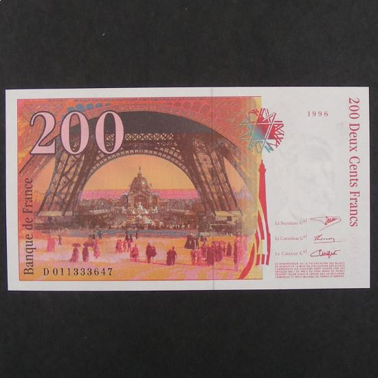 200 Francs Eiffel 1996, Pr.Neuf