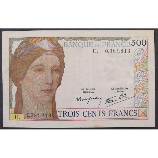 300 Francs Cerveau 9.2.1938, U.0384813, TTB