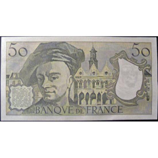 Billets français, Banque de France, 50 Francs Quentin De La Tour 1979