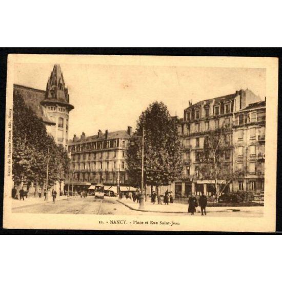 NANCY - Place et Rue St Jean