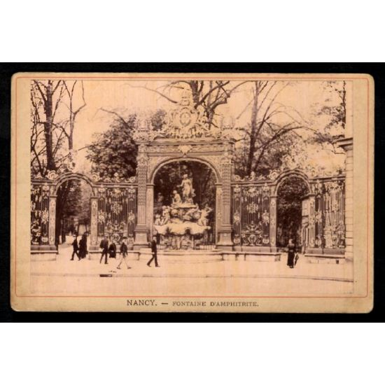 Phototypie J. Royer - NANCY - Fontaine d'Amphitrite