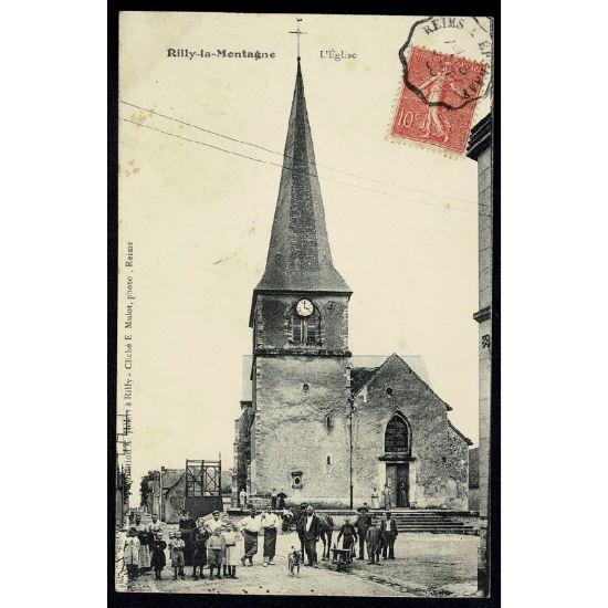 51 - RILLY LA MONTAGNE - L'Eglise