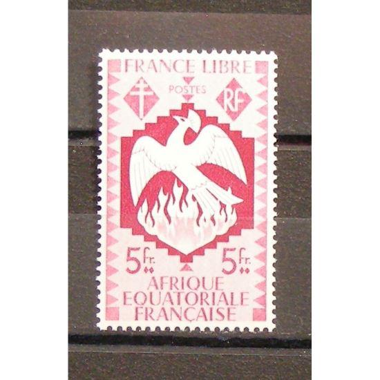 Afrique Equatoriale Française, N°152a, N** Cote 220€