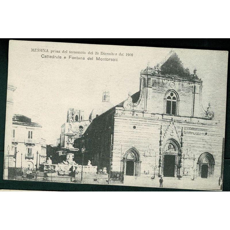 SICILIA - Messina prima del terremoto del 28 Décembre del ...