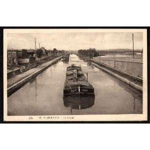 02 - SAINT QUENTIN (Aisne) - Le Canal