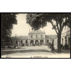 03 - COMMENTRY (Allier) - La Gare