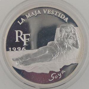 10 Francs 1996 BE, La Maja Vestida, KM#1148