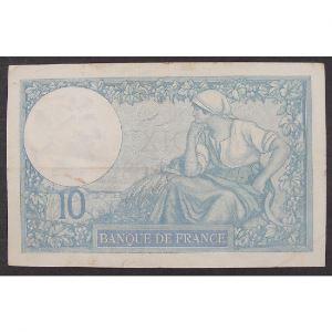 10 Francs Minerve 25.2.1932 , V.63220, TTB