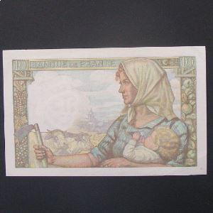 10 Francs Mineur 26-11-1942, TTB/SUP