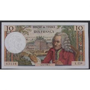 10 Francs Voltaire 3.2.1966, X.226, SUP
