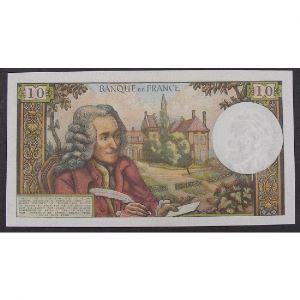 10 Francs Voltaire 4.1.1968, E.397, TTB+