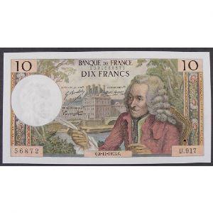 10 Francs Voltaire 8.11.1973, U.917, SUP+