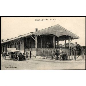 10 - MAILLY LE CAMP (Aube) - La Gare