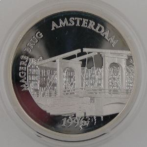 100 Francs 1996 BE, Magere Brug Amsterdam, KM#1156