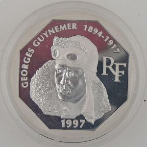 100 Francs 1997 BE, Georges Guynemer, KM#1197