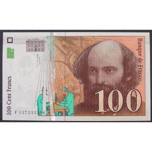 100 Francs Cézanne 1998, F057255296, SUP+