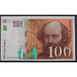 100 Francs Cézanne 1998, X057259093, SUP+
