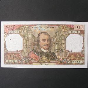 100 Francs Corneille 4-5-1972 , SUP+