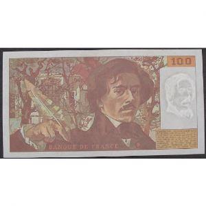 100 Francs Delacroix 1991, G.205, TTB