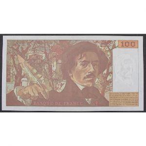 100 Francs Delacroix 1995 , Q.259, SPL