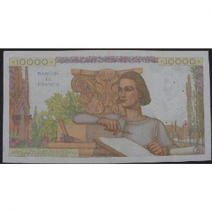 10000 Francs Génie Français 1.12.1955, J.10011, TB+