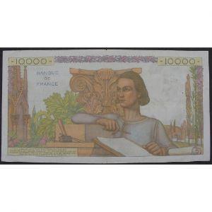 10000 Francs Génie Français 2.2.1956, E.10835, TB+