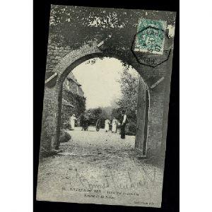 14- VILLER SUR MER - Manoir d'Auberville - Entrée de la Ferme