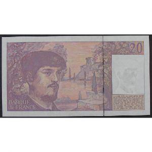 20 Francs Debussy 1991, B.032, Pr.Neuf