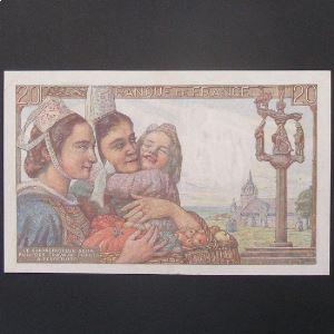 20 Francs Pêcheur 19.5.1949, TTB+