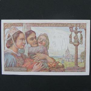 20 Francs Pêcheur 5.7.1945 , SUP+