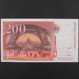 200 Francs Eiffel 1995, SPL