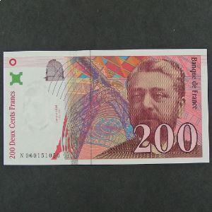 200  Francs Eiffel 1997, Pr.Neuf