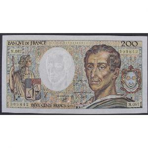 200 Francs Montesquieu 1991, N.087, TTB+