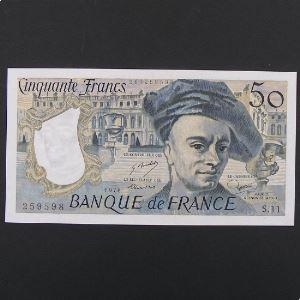 50 Francs Quentin de la Tour 1978, SUP+