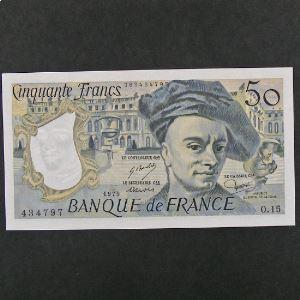 50 Francs Quentin de la Tour 1979, pr.SPL