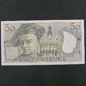 50 Francs Quentin de la Tour 1985, SPL