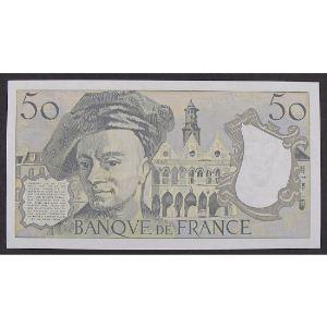 50 Francs Quentin de la Tour 1989, K.57, SUP+