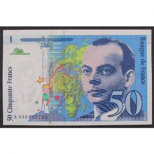 50 Francs Saint-Exupéry 1996, A046662752, SUP