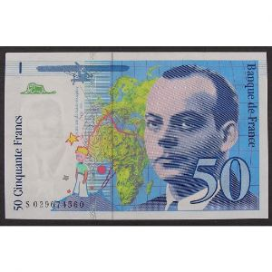 50 Francs Saint-Exupéry 1996, N029674560, TTB+