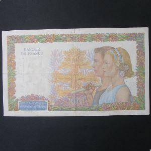 500 Francs La Paix 20.6.1942 , TB