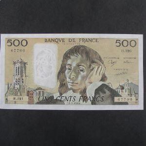 500 Francs Pascal 2.2.1989, SUP