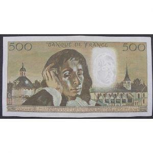 500 Francs Pascal 6.12.1973, G.39, TTB/TTB+