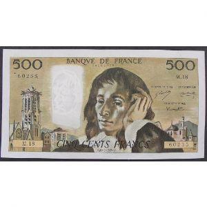 500 Francs Pascal 8.1.1970, M.18, TTB/TTB+