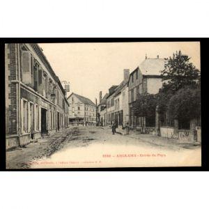 51 - ANGLURE (Marne) - Entrée du Pays