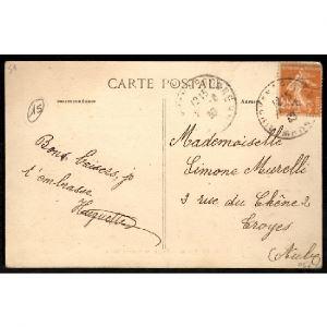 51 - NOIRLIEU (Marne) - Route de Somme Yèvre