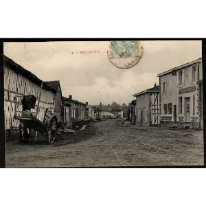 51 - ORCONTE (Marne) - Grande Rue - Café Leloup Haniez