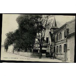 51 - SAINT REMY EN BOUZEMONT - La Poste et l'Eglise