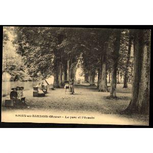 55 - LIGNY EN BARROIS (Meuse) - Le Parc et l'Ornain