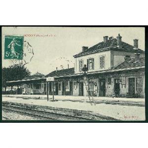 55 - REVIGNY  (Meuse) - La Gare