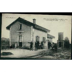 55 - SOUILLY (Meuse) - La Gare - La Grande Guerre 1914-1918